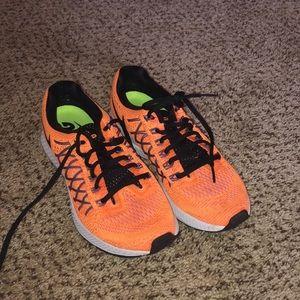 Orange Nike Pegasus 32
